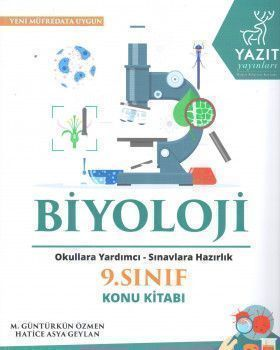 Yazıt Yayınları 9. Sınıf Biyoloji Konu Kitabı