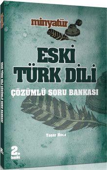 Yönerge Yayınları Minyatür Eski Türk Dili Çözümlü Soru Bankası