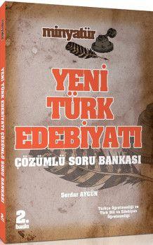Yönerge Yayınları Minyatür Yeni Türk Edebiyatı Çözümlü Soru Bankası