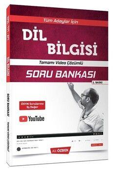 Yönerge Yayınları 2020 KPSS TYT AYT Dil Bilgisi Soru Bankası Video Çözümlü