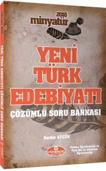 Yönerge Yayınları 2018 Minyatür Yeni Türk Edebiyatı Çözümlü Soru Bankası