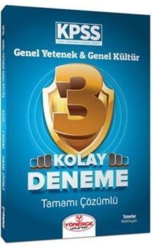 Yönerge YayınlarıKPSS Genel Yetenek Genel Kültür Kolay 3 Deneme Çözümlü