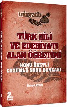 Yönerge Yayınları Türk Dili ve Edebiyatı Alan Öğretimi Minyatür Konu Özetli Soru Bankası