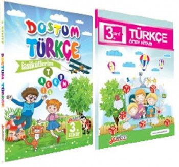 Yüklem Yayınları 3. Sınıf Dostum Türkçe Seti