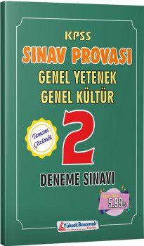 Yüksek Basamak Yayınları KPSS Genel Yetenek Genel Kültür Sınav Provası 2 Deneme Sınavı