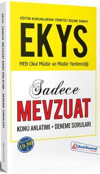 Yüksek Basamak Yayınları EKYS MEB Okul Müdür ve Müdür Yardımcılığı Sadece Mevzuat Konu Anlatımlı