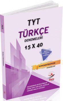 Yüksek Tempo Yayınları TYT Türkçe 15x40 Denemeleri