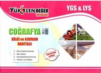 Yükselen Değer YGS LYS Coğrafya Bilgi ve Kavram Haritası