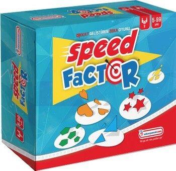 Yükselen Zeka Yayınları Speed Factor Hız ve Dikkat Oyunu (6-99 Yaş)