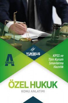 Yükseliş Kariyer KPSS A Grubu Özel Hukuk Konu Anlatımı