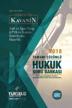 Yükseliş Kariyer KPSS A Grubu Kavanin Hukuk Tamamı Çözümlü Soru Bankası