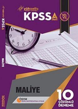 Yükseliş Kariyer Yayınları 2017 KPSS A Grubu Maliye Çözümlü 10 Deneme