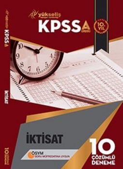 Yükseliş Kariyer Yayınları 2017 KPSS A Grubu İktisat Çözümlü 10 Deneme