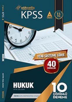 Yükseliş Kariyer Yayınları 2017 KPSS A Grubu Hukuk Çözümlü 10 Deneme