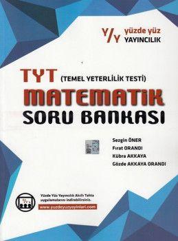 Yüzde Yüz Yayınları TYT Matematik Soru Bankası