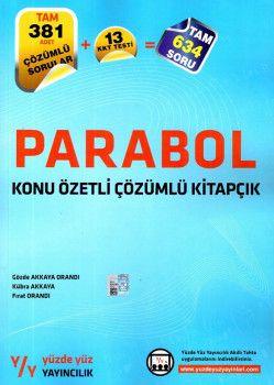 Yüzde Yüz Yayınları Parabol Konu Özetli Çözümlü Kitapçık