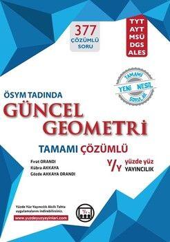 Yüzde Yüz Yayınları Güncel Geoemetri Tamamı Çözümlü