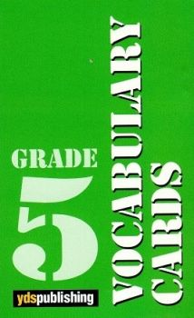 Ydspublishing Yayınları Grade 5 Vocabulary Cards