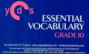 Ydspublishing Yayınları YDS Grade 10 ESSENTIAL VOCABULARY