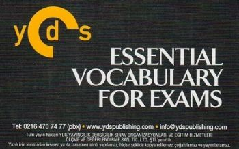 Ydspublishing Yayınları YDS Grade 10 ESSENTIAL VOCABULARY FOR EXAMS