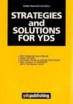 Ydspublishing Yayınları STRATEGIES and SOLUTIONS FOR YDS