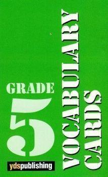Ydspublishing Yayınları Grade 5 Vocabulary Cards