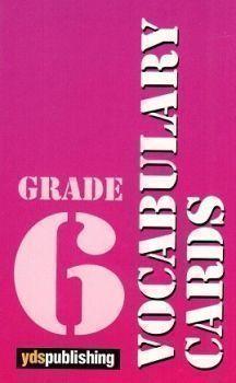 Ydspublishing Yayınları Grade 6 Vocabulary Cards