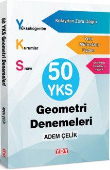 YDY Yayınları YKS Geometri Matematik 50 Denemeleri