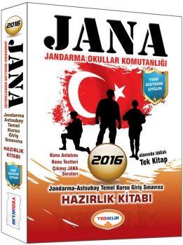 Yediiklim 2016 Jana Jandarma Okullar Komutanlığı Hazırlık Kitabı