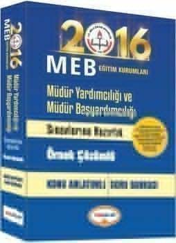 Yediiklim 2016 MEB Müdür Yardımcılığı ve Müdür Başyardımcılığı Konu Anlatımlı Soru Bankası