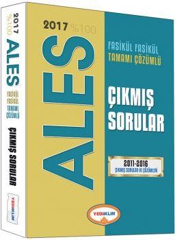 Yediiklim 2017 ALES 2011 2016 Tamamı Çözümlü Fasikül Fasikül Çıkmış Sorular
