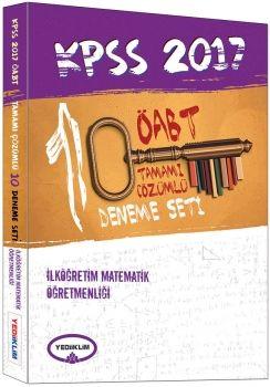 Yediiklim 2017 ÖABT İlköğretim Matematik Öğretmenliği Tamamı Çözümlü 10 Fasikül Deneme Seti