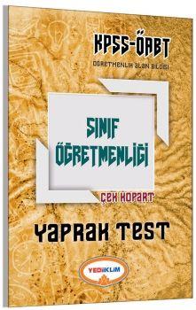 Yediiklim 2017 ÖABT Sınıf Öğretmenliği Çek Kopart Yaprak Test