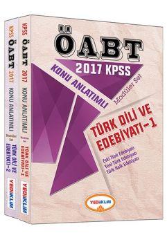 Yediiklim 2017 ÖABT Türk Dili ve Edebiyatı Öğretmenliği Konu Anlatımlı Modüler Set