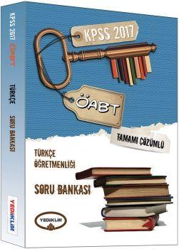 Yediiklim 2017 ÖABT Türkçe Öğretmenliği Tamamı Çözümlü Soru Bankası