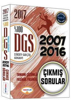 Yediiklim 2017 DGS Tamamı Çözümlü Fasikül Fasikül Çıkmış Sorular 2007-2016