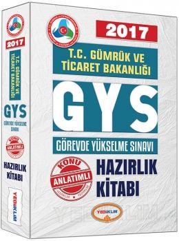 Yediiklim 2017 GYS T.C Gümrük ve Ticaret Bakanlığı Konu Anlatımlı Hazırlık Kitabı