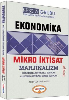 Yediiklim 2017 KPSS A Ekonomika Mikro İktisat Marjinalizm Ders Notları Çözümlü Sorular