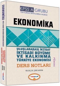 Yediiklim 2017 KPSS A Ekonomika Uluslararası iktisat İktisadi Büyüme ve Kalkınma Türkiye Ekonomisi Ders Notları