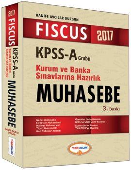 Yediiklim 2017 KPSS A Grubu FISCUS Muhasebe Kurum ve Banka Sınavlarına Hazırlık Konu Anlatımlı