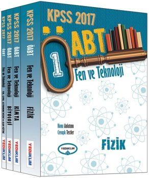 Yediiklim 2017 KPSS ÖABT Fen ve Teknoloji Öğretmenliği Konu Anlatımlı Modüler Set