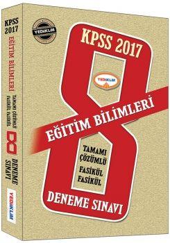 Yediiklim 2017 KPSS Eğitim Bilimleri Tamamı Çözümlü Fasikül 8 Deneme
