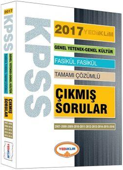 Yediiklim 2017 KPSS Genel Yetenek Genel Kültür 2007-2016 Tamamı Çözümlü Fasikül Çıkmış Sorular