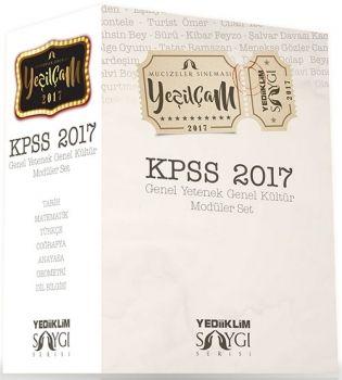 Yediiklim 2017 KPSS Genel Kültür Genel Yetenek Konu Anlatımlı Modüler Set Saygı Serisi Mucizeler Sineması Yeşilçam