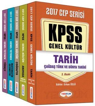 Yediiklim 2017 KPSS Genel Yetenek Genel Kültür Konu Analtımlı Cep Kitabı Serisi
