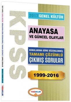 Yediiklim 2017 KPSS Genel Kültür Anayasa Konularına Göre Düzenlenmiş Tamamı Çözümlü 1999 2016 Çıkmış Sorular