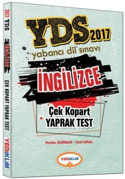 Yediiklim 2017 YDS İngilizce Çek Kopart Yaprak Test