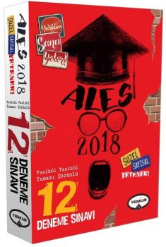 Yediiklim 2018 ALES Tamamı Çözümlü 12 Fasikül Deneme Sınavı