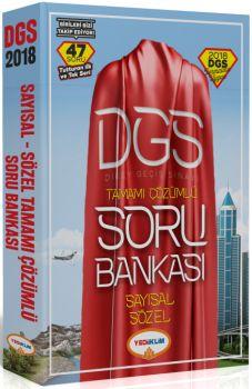 Yediiklim 2018 DGS Sayısal Sözel Bölüm Tamamı Çözümlü Soru Bankası