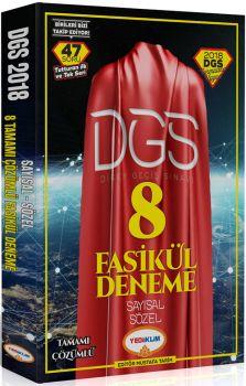 Yediiklim 2018 DGS Sayısal Sözel Tamamı Çözümlü 8 Fasikül Deneme